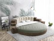 Ассортимент круглых кроватей от 35 000 руб.